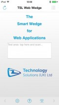 RFID Web Wedge iOS app for Bluetooth RFID Reader