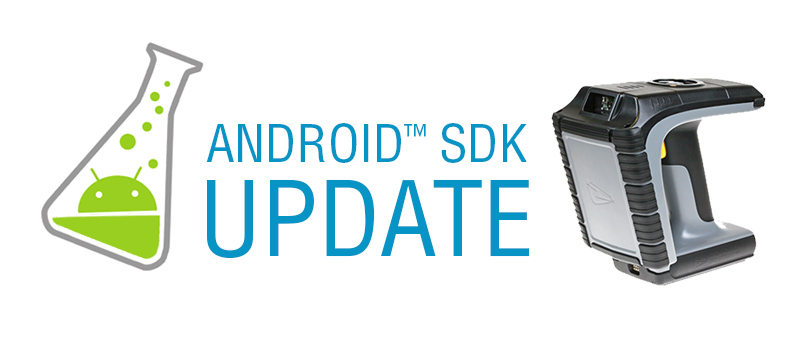 New Android™ SDK update adds support for the 1166 Bluetooth® UHF