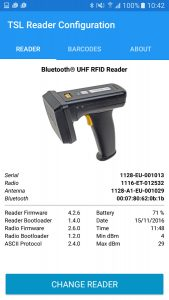 TSL Reader Configuration App - Image 01